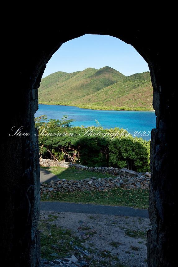 ruins, annaberg, mary creek, st john, virgin islands, national park