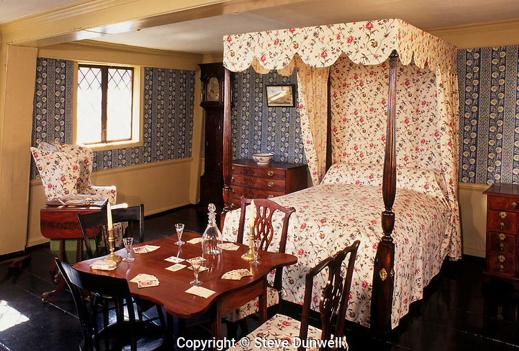 Bedroom, Paul Revere House, Boston, MA