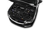Car stock 2018 Mazda CX-5 Sport 5 Door SUV engine high angle detail view