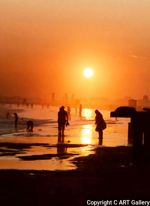Seal Beach Sunset #1 , Seal Beach in Summer, CA.