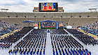 May 23, 2021; Commencement Mass in Notre Dame Stadium (Photo by Matt Cashore/University of Notre Dame)
