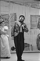 Présentation de la pièce «Orion le tueur» (mise en scène de Paul Buissonneau). 1956