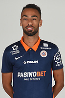 14th October 2020, Montpellier, France; Official League 1 player portraits for Montpellier FC;  18. AMMOUR Yanis