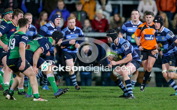 Wednesday 2nd January 2019 | MMW Junior Cup Final 2019<br /> <br /> Matthew McMaster during the  2019 MMW Ulster Junior Cup Final between Ballynahinch RFC and Dromore RFC at Kingspan Stadium, Ravenhill Park, Belfast, Northern Ireland. Photo by John Dickson / DICKSONDIGITAL
