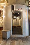 Stairs to nowhere, Seattle, WA, Georgetown Steam Plant, a National Historic Landmark in Seattle, WA USA,  Georgetown PowerPlant Museum; National Historic Mechanical Engineering Landmark;