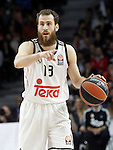 Real Madrid's Sergio Rodriguez during Euroleague match.March 27,2015. (ALTERPHOTOS/Acero)