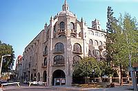 Riverside CA: Glenwood Mission Inn,  1902-1931. Addition (1929- ) by G. Stanley Wilson in reinforced concrete.