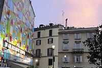 - Milan, square columns of San Lorenzo....- Milano, piazza delle colonne di San Lorenzo