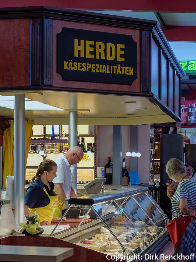 In der Markthalle, Karmarschstr. 49, Hannover, Niedersachsen, Deutschland, Europa<br /> Inside the  covered market, Karmarsch St. 49, Hanover, Lower Saxony, Germany, Europe