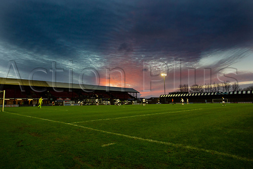 21st November 2020; Somerset Park, Ayr, South Ayrshire, Scotland; Scottish Championship Football, Ayr United versus Dundee FC; A fan less Somerset Park as fans are still banned from matches in Scotland