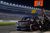 NASCAR Camping World Truck Series<br /> JAG Metals 350<br /> Texas Motor Speedway<br /> Fort Worth, TX USA<br /> Friday 3 November 2017<br /> Christopher Bell, JBL Toyota Tundra, makes a pit stop<br /> World Copyright: John K Harrelson<br /> LAT Images
