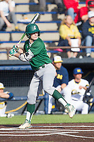 Eastern Michigan Hurons outfielder Jeremy Stidham (50) at bat against the Michigan Wolverines on May 3, 2016 at Ray Fisher Stadium in Ann Arbor, Michigan. Michigan defeated Eastern Michigan 12-4. (Andrew Woolley/Four Seam Images)