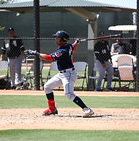 Aaron Bracho - Cleveland Indians 2018 extended spring training (Bill Mitchell)