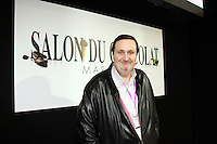 02.02.2017 - Marseille, France - Salon du Chocolat en presence du chef patissier Philippe Conticini
