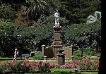 SYDNEY NSW, AUSTRALIA. 05 January 2010. One of the many war memorials located all over the country this statue commemorating the fallen is in the Waverley Gardens is in the Eastern Suburbs district of Waverley. As Australia's largest city , Sydney has some of the most beautiful beaches in the world to compliment the incredible Harbour the city is based around drawing tourist from the world over.