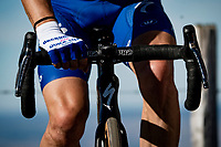 Julian Alaphilippe (FRA/Deceuninck-QuickStep) on the turbo after finishing up Mont Aigoual<br /> <br /> Stage 6 from Le Teil to Mont Aigoual (191km)<br /> <br /> 107th Tour de France 2020 (2.UWT)<br /> (the 'postponed edition' held in september)<br /> <br /> ©kramon