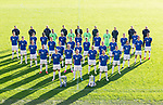 St Johnstone FC 2021-22<br />Front row from left, Liam Gordon, Liam Craig, and David Wotherspoon.<br />Second row from left, Michael O'Halloran, Stevie May, Chris Kane and Glenn Middleton.<br />Third row from left, James Brown, Craig Bryson, Ali Crawford, Cammy MacPherson and Murray Davidson.<br />Fourth row from left, Charlie Gilmour, Callum Hendry, Reece Devine, Cammy Ballantyne, Max Kucheriavyi and Eetu Vertainen.<br />Fifth row from left, Lars Dendoncker, Efe Ambrose, Shaun Rooney, Callum Booth, Jamie McCart, Hayden Muller ans Sam Denham.<br />Sixth row from left, Jordan Northcott, Ross Sinclair, Elliott Parish, Zander Clark, Jack Wills and Alex Ferguson.<br />Seventh row from left, John McDougall (Kit Manager), Alex Headrick (Sports Scientist), Paul Mathers (Goalkeeping Coach), Steven MacLean (Coach), Callum Davidson (Mananger), Alex Cleland (Coach), Stevie Grieve (Head of Recruitment), Mel Stewart (Physio) and Jim Law (Physio).<br />Picture by Graeme Hart.<br />Copyright Perthshire Picture Agency<br />Tel: 01738 623350  Mobile: 07990 594431