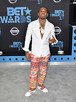 LOS ANGELES, CA - JUNE 25: YFN Lucci arriving to the BET Awards 17 at the Microsoft Theater in Los Angeles, California on June 25, 2017. Credit: Koi Sojer/Snap N U Photos/MediaPunch