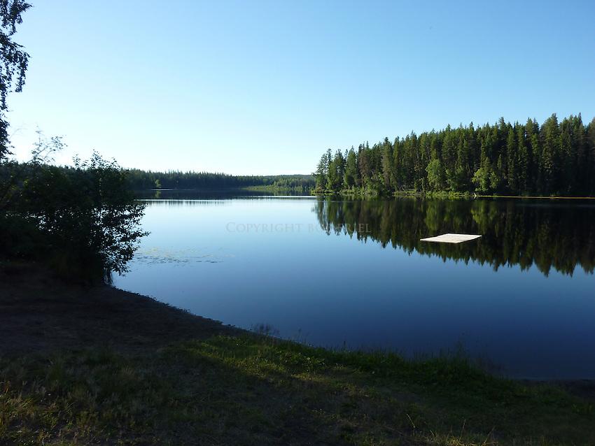 Sunrise at lake where Madison Scott disappeared