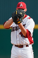 Sam Murphy (45);March 9th, 2010; South Dakata State University vs Arkansas Razorbacks at Baum Stadium in Fayetteville Arkansas. Photo by: William Purnell/Four Seam Images