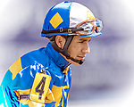 HALLANDALE BEACH, FL - Photo of Paco Lopez taken January 19, 2017 at Gulfstream Park in Hallandale Beach, FL. (Photo by Bob Aaron/Eclipse Sportswire/Getty Images)