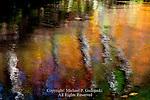 Autumn Reflection on Bushkill Creek, Jacbesburg Environmental Education Center, Pennsylvania