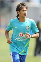 Brazil forward Neymar (11) The Argentina National Team defeated Brazil 4-3 at MetLife Stadium, Saturday July 9 , 2012.