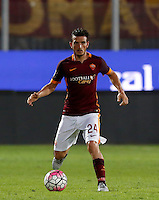 Calcio, Serie A: Frosinone vs Roma. Frosinone, stadio Comunale, 12 settembre 2015.<br /> Roma's Alessandro Florenzi in action during the Italian Serie A football match between Frosinone and Roma at Frosinone Comunale stadium, 12 September 2015.<br /> UPDATE IMAGES PRESS/Riccardo De Luca