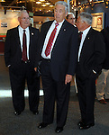 The Nationa Aviation Hall of Fames hosts the 2010 President's Dinner at the National Museum of the United States Air Force in Dayton, Ohio on July 16.