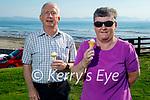 John and Phylis McCarthy from Castleisland enjoying their ice cream in Ballyheigue on Sunday.
