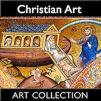 Christian Art | Mosaic,  Sculptures, Paintings