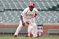 August 8, 2009:  Outfielder Kevin Jordan (5) of Team One during the Under Armour All-America event at Wrigley Field in Chicago, IL.  Photo By Mike Janes/Four Seam Images
