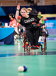 Alison Levine, Tokyo 2020 - Boccia.<br /> Canada competes against Slovakia in pairs BC4 boccia // Le Canada affronte la Slovaquie en paires de boccia BC4. 09/03/2021.