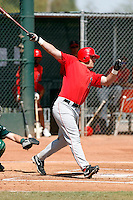 Patrick Breen - Los Angeles Angels - 2009 spring training.Photo by:  Bill Mitchell/Four Seam Images