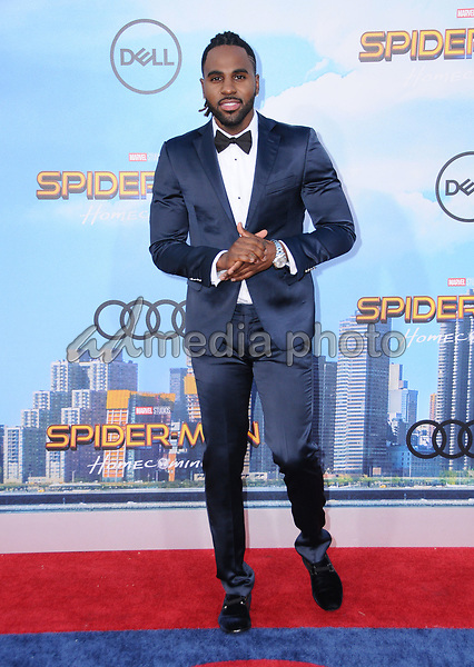 """28 June 2017 - Hollywood, California - jason Derulo. """"Spider-Man: Homecoming"""" Los Angeles Premiere held at the TCL Chinese Theatre in Hollywood. Photo Credit: Birdie Thompson/AdMedia"""