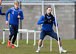 St Johnstone Training... 05.03.21<br />Chris Kane pictured during training at McDiarmid Park this morning...<br />Picture by Graeme Hart.<br />Copyright Perthshire Picture Agency<br />Tel: 01738 623350  Mobile: 07990 594431