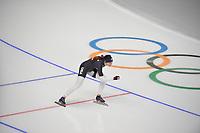 OLYMPIC GAMES: PYEONGCHANG: 17-02-2018, Gangneung Oval, Long Track, Training session, Heather Bergsma (USA), ©photo Martin de Jong
