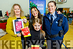 Roisin and Michelle Kerins, Javita Jutytagaz and Sgt Eileen O'Sullivan at the ohn Mitchels GAA Club Christmas Market on Saturday