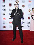 Marilyn Manson attends  FX's SONS OF ANARCHY Premiere Screening held at The TCL Chinese Theatre  in Hollywood, California on September 06,2014                                                                               © 2014 Hollywood Press Agency