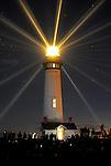 FB 383  Pigeon Point Lighthouse.  5x7 postcard.