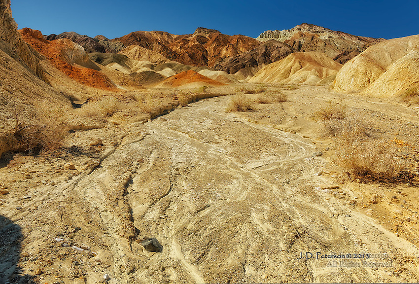 Amber Wash, Death Valley, California
