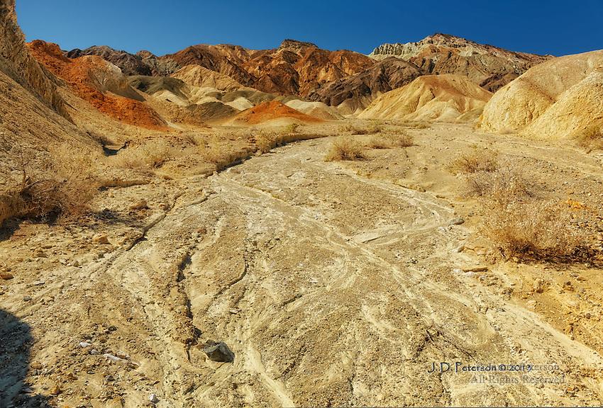 Amber Wash, Death Valley, California