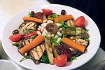 Vegetable Salad, Olio Pane, Paris, France, Europe