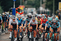 8th October 2021; AJ Bell Womens Cycling Tour, Stage 5, Colchester to Clacton on Sea.  The peloton arrive in Clacton.