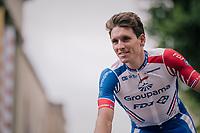 Arnaud Démare (FRA/Groupama-FDJ) at the Team presentation in La Roche-sur-Yon<br /> <br /> Le Grand Départ 2018<br /> 105th Tour de France 2018<br /> ©kramon