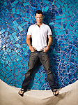 """Actor Jeffrey Donovan of """"Burn Notice"""" photographed in Coconut Grove, Florida on June 26, 2008 for US Weekly."""