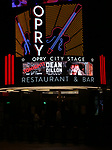Theatre Marquee for Dean Dillon in concert to launch 'Tennessee Whiskey' The New Musical based on his life at The Studio at Opry City Stage on May 12, 2018 in New York City.