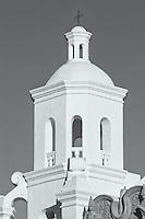 San Xavier del Bac Mission in the Santa Cruz Valley south of Tucson, Arizona