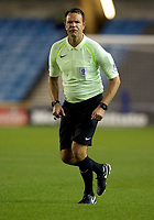 Referee James Linington during the Sky Bet Championship match between Millwall and Ipswich Town at The Den, London, England on 15 August 2017. Photo by Alan  Stanford / PRiME Media Images.