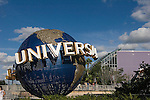 Universal Globe, Citywalk, Orlando, Florida